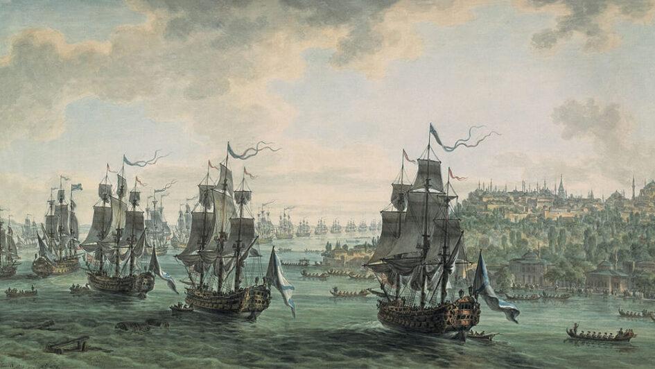 Средиземноморский поход Ушакова