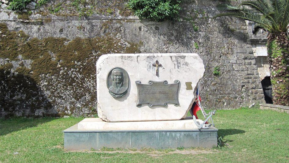 Памятник адмиралу Ушакову на о.Корфу.